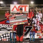 Scott Payea Pours It On Late For ACT Showdown Win At New London-Waterford Speedbowl