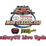 RaceDayCT Live Updates From Whelen Mod Tour Toyota Mod Classic 150 At Oswego