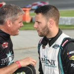 Whelen Modified Tour Pit Box: Field Targeting Justin Bonsignore At Oswego