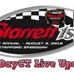 RaceDayCT Live Updates From The Whelen Mod Tour Starrett 150 At Stafford