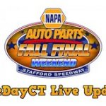 RaceDayCT Live Updates From NAPA Fall Final 150 Weekend At Stafford Speedway