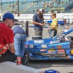 Matt Swanson And Boehler Racing Enterprises Working Race To Race On Whelen Modified Tour
