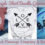 Special Black Flamingo Company T-Shirt Giveaway For Sunoco World Series Weekend At Thompson