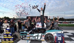 Swept Up: Justin Bonsignore Closes Title Year With Sunoco World Series 150 Win At Thompson