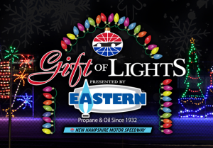 ... right around the corner, and that means it's time for New Hampshire Motor Speedway to trade in the checkered flags for two million twinkly lights during ...