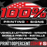 RaceDayCT Thompson Speedway Coverage To Be Presented By 100% Printing