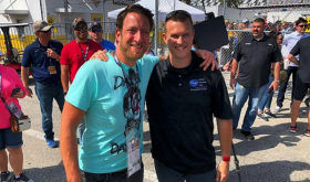 Celebrity Spotting: Ryan Preece Jumps At Chance To Meet Barstool Sports Founder At Daytona 500