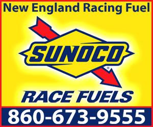 New England Racing Fuel Ad Blue Block