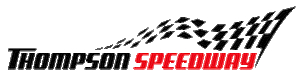 Thompson Speedway Long Narrow Logo