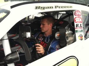 Ryan Preece in his Tommy Baldwin Racing Nationwide Series entry last year.