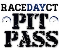 RaceDayCT Pit Pass Logo Box Spotlight