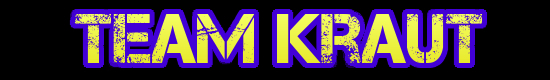 Team Kraut Wide Banner Black back