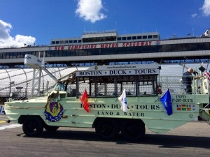 The Boston Duck Boat Jeff Gordon will ride in Sunday prior to the Sylvania 300 at New Hampshire Motor Speedway