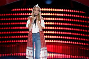"""Caroline Burns, who was a contestant on NBC's """"The Voice"""" this spring, will sing the national anthem at the NASCAR Sprint Cup race at NHMS on July 17. (Photo: Courtesy NBC)"""