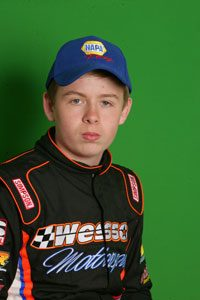 Daniel Wesson (Photo: Stafford Speedway/Driscoll MotorSports Photography)