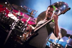 Stefan Lessard of the Dave Matthews Band (Photo: Courtesy of New Hampshire Motor Speedway)