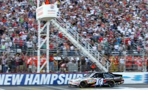 Tony Stewart was the last driver to win a Chase race at New Hampshire Motor Speedway and ride it all the way to a Sprint Cup Series championship in 2011 (Photo: New Hampshire Motor Speedway)