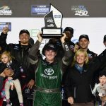 Austin Hill Wins Wild NASCAR Truck Series Season Opener In Overtime