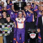 Denny Hamlin Gets Emotional Second Daytona 500 victory