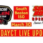 Live Updates From Whelen Mod Tour South Boston 150 At South Boston Speedway
