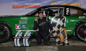 Double Take: Albert Saunders Scores Late Model Victory At Stafford Speedway