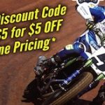 "Get The ""Dirt Cheap"" Deal For NHMS Flat Track"