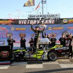 Sizzling Again: Doug Coby Wins Fourth NAPA Spring Sizzler 200 At Stafford Speedway