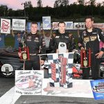 Matt Hirschman Back Out Front In Tri-Track Open Modified Series At Claremont