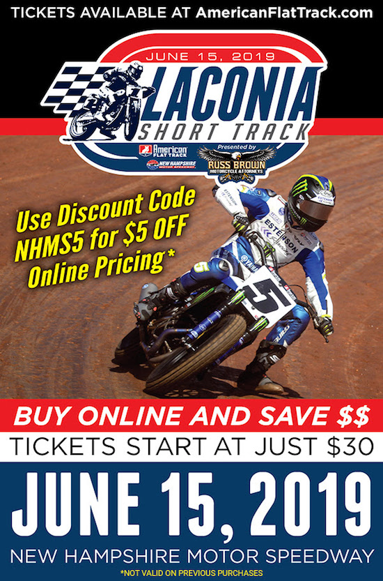"""Get The """"Dirt Cheap"""" Deal For NHMS Flat Track"""