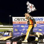 Jimmy Hebert Scores American-Canadian Tour Victory At Thompson Speedway