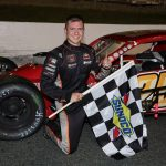 Ronnie Williams Grabs First Valenti Mod Series Win At Monadnock Speedway