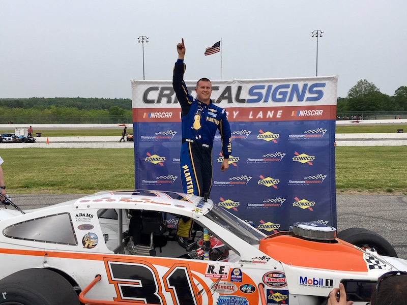 Happy Homecoming: Ryan Preece Wins SK Modified Feature In Return To
