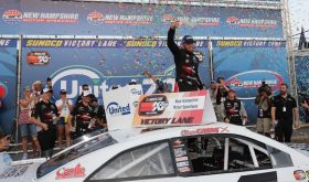 Chase Cabre Scores K&N Pro Series East United Site Services 70 Win At NHMS
