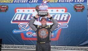 Three Wide Ride: Patrick Emerling Wins Modified Whelen All-Star Shootout At NHMS