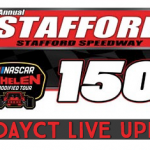 RaceDayCT Live Updates From Whelen Modified Tour Stafford 150 At Stafford Speedway
