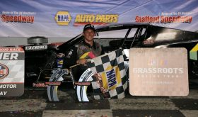 Back To The Front: Stephen Kopcik Tops SK Modified Feature At Stafford Speedway