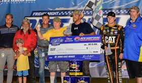 Chris Transeau, Seth Carlson Take the Wins In The Flat Track's Friday Night Dirt Duels At NHMS