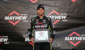 Doug Coby Grabs Pole For Whelen Mod Tour Bud 150 At Thompson Speedway