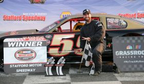 Matt Clement Enjoying The Ride In Stafford Speedway Limited Late Model Division