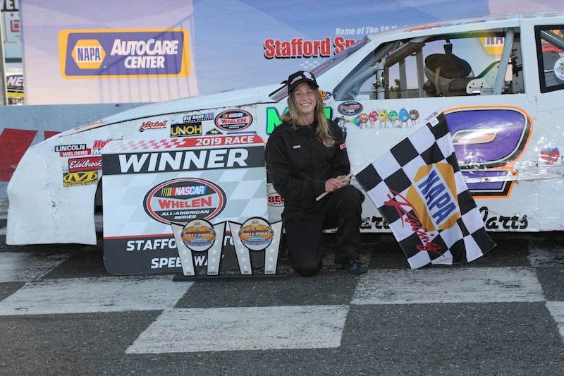 Meghan Fuller Gets Fifth Street Stock Win At Stafford