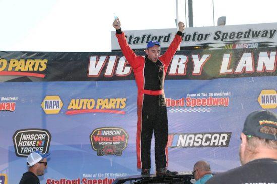 Zack Robinson Wins 2019 Stafford Speedway Street Stock