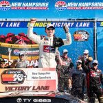 Ty Gibbs Earns First NASCAR Win In K&N Pro Series East Apple Barrel 125 At NHMS